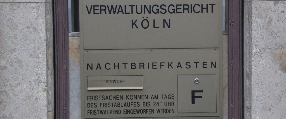 Allgemeinverfügung Köln
